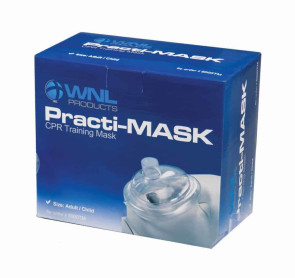 Practi-Mask Adult/Child CPR Training Masks, 10/Box
