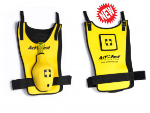 Act + Fast Anti-Choking Yellow Trainer Vest