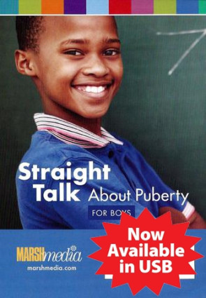 Straight Talk About Puberty for Boys USB