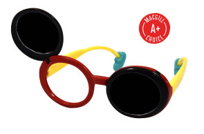 Flip-Up Opaque Occluder Glasses