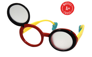 Flip-Up Frosted Occluder Glasses