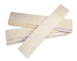 Basswood Splints, 12/Pkg