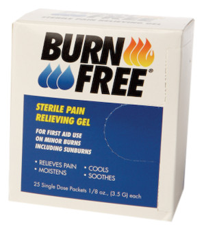 Burn Free® Burn Gel, 1/8 Oz Unit Dose Packs, 25/Box