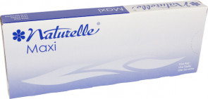#8 Naturelle Maxi Pads, 250/Case