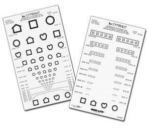 Good-Lite® Pocket Near Vision Card, LEA Symbols®