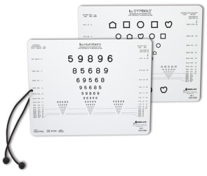 Good-Lite® Near Vision Card Set, LEA Symbols® & LEA Numbers®