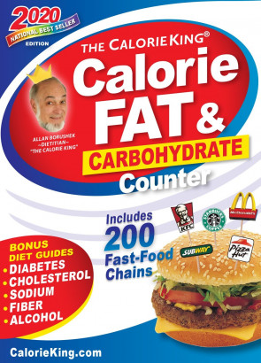 The CalorieKing Calorie, Fat, and Carbohydrate Counter