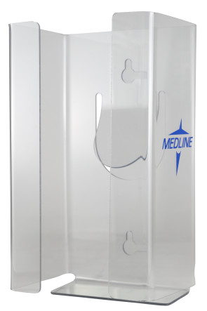Clear Acrylic Glove or C-Fold Towel Dispenser