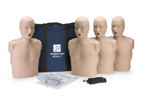 Prestan Adult Manikin 4-Pack with CPR Rate Monitor
