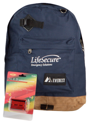 Heavy Duty Backpack with LED Safety Signal