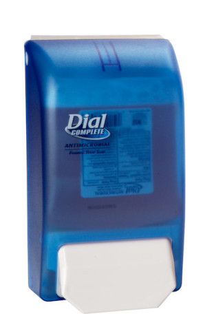 Blue Dispenser for Dial® Complete® Foam Soap Liter