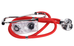 Red Sprague Rappaport-Type Stethoscope