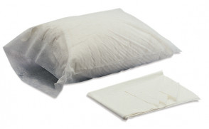 "Disposable Embossed ""Poly"" Pillow Covers, 100/Case"