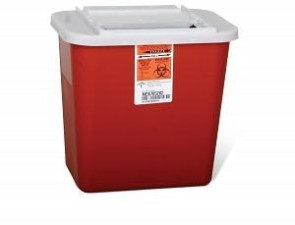 2 Gallon Infectious Waste Container