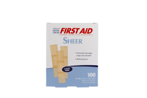 "3/8"" Mini Sheer Bandages, 100/Box"