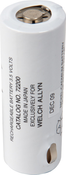 Welch Allyn® Rechargeable Battery - Black Lettering
