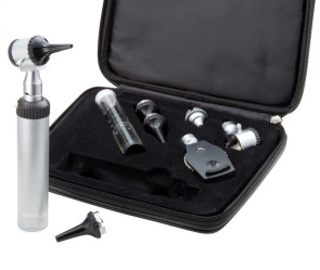 Economy 2.5V Otoscope & Ophthalmoscope Set