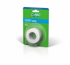 "Curad® Cloth Tape, 1"" x 10 Yards, 1 Roll"