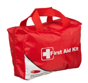 Soft-Sided Portable Fold Open First Aid Kit