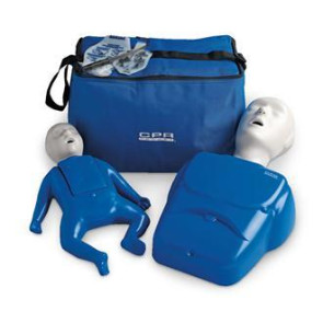 CPR Prompt™ 1 Adult/Child Manikin & 1 Infant Manikin Set