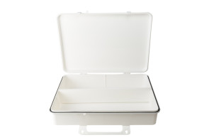 Empty 50-Person Plastic First Aid Kit