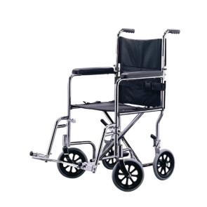 Transport Chair, Silver