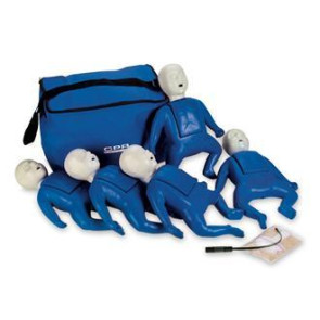 CPR Prompt® Infant Manikin 5-Pack (Blue)