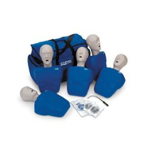 CPR Prompt® Adult/Child Manikin 5-Pack (Blue)
