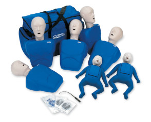 CPR Prompt® 5 Adult/Child & 2 Infant Pack (Blue)