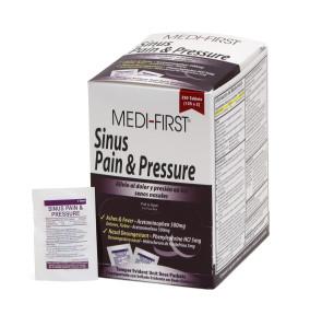 Non-Pseudo Sinus Pain & Pressure, 250/Box