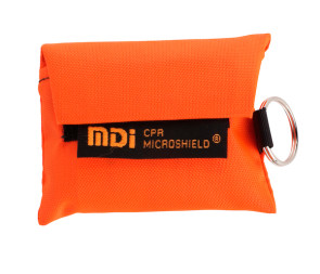 CPR Microkey® in Orange Nylon Pouch