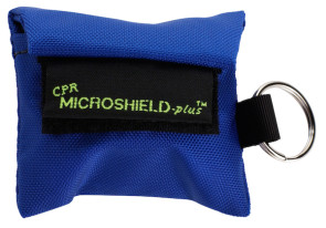 CPR Microkey®-Plus in Royal Blue Nylon Pouch