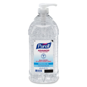 Purell® Advanced Hand Sanitizer 2 Liter Pump Bottle