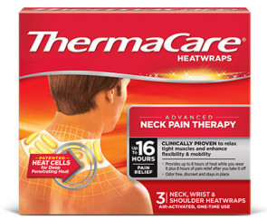 ThermaCare Neck-to-Arm Heat Wraps (3/Pkg)