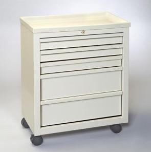 Economy 5-Drawer Treatment/Procedure Cart - Beige